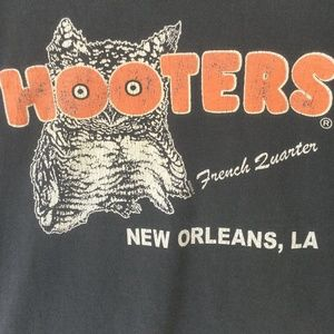 90s Hooters Restaurant New Orleans French Quarter